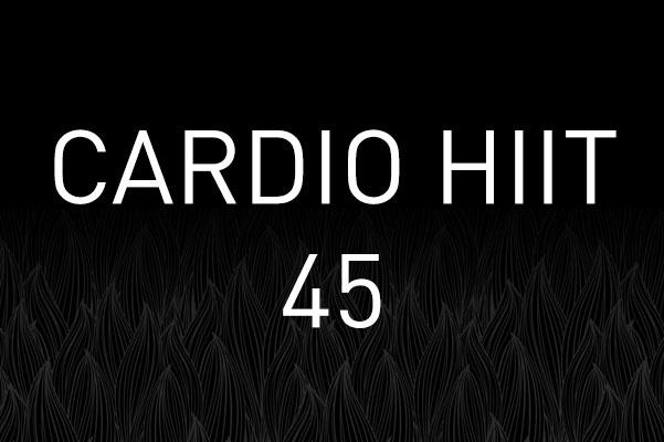 Cardio HIIT 45